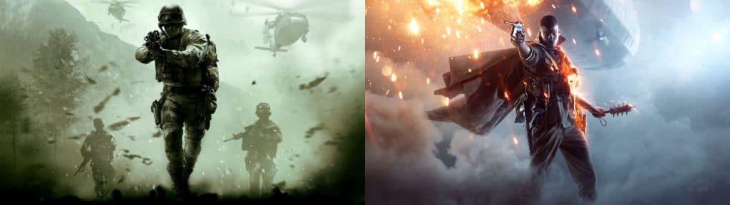 Call of Duty VS Battlefiled